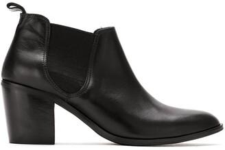 Sarah Chofakian Block Heeled Boots