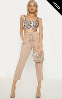 4fashion Petite Camel Casual Trousers