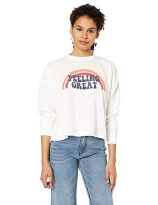 Roxy Women's Dream Believer Crew Neck Fleece