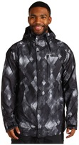 Burton TWC Throttle Snowboarding Jacket (True Black Diamond Watercolor Print) - Apparel