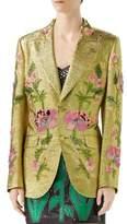 Gucci Lurex Embroidered Jacket