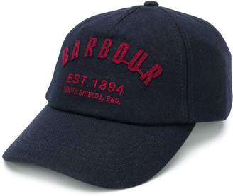 Barbour logo embroidery baseball cap
