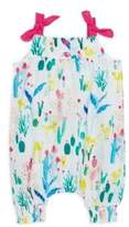 Catimini Baby's Cotton Floral Overall