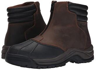 Propet Blizzard Mid Zip (Brown/Black) Men's Lace-up Boots