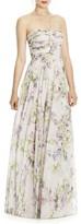Women's Jy Jenny Yoo Chiffon A-Line Gown