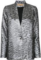 Maison Olga metallic blazer
