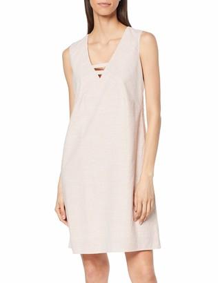 Yargıcı Yargc Womens 9YKEL7106X V-Neck Sleeveless Dress - Brown - 12