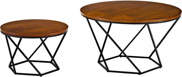 17290db5ba Walnut Nesting Table - ShopStyle