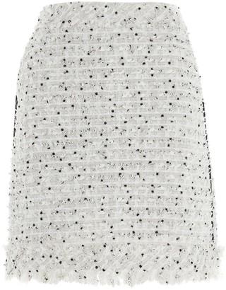 Karl Lagerfeld Paris Boucle Mini Skirt