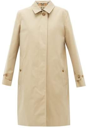 Burberry Pimlico Check Lined Cotton Raincoat - Womens - Beige