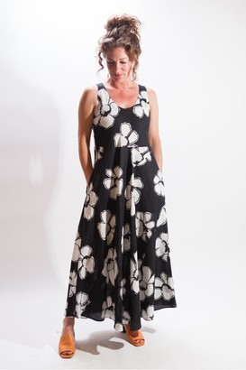 Rosso35 - Floral Sleeveless Maxi Dress - 10