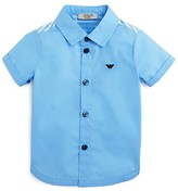 Armani Junior Armani Infant Boys' Striped Back Shirt & Shorts Set - Sizes 9-24 Months