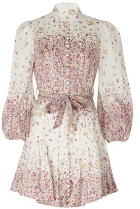 Zimmermann Belted short dress