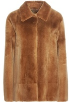 The Row Alon fur jacket