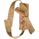 Chloé Beige Cloth Belt