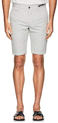 Pt01 Men's Linen-Cotton Bermuda Shorts - Cream