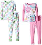 Peppa Pig Toddler Girls' 4pc Cotton Set