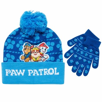Boys Official Licensed Blaze Gloves Beanie Hat /& Scarf Set One size 4-10 Years