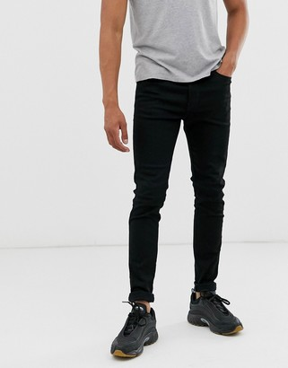 Diesel D-Istort super skinny fit jeans in 069EF stay black