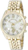 U.S. Polo Assn. Women's Quartz Metal and Alloy Watch, Color:Gold-Toned (Model: USC40097)