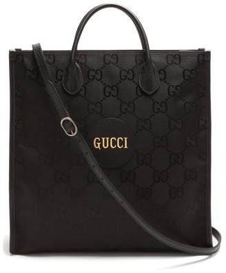 Gucci Off The Grid Gg-jacquard Canvas Tote Bag - Black