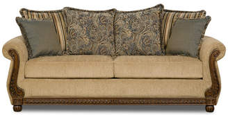 United Furniture Industries Simmons Upholstery Outback Antique Sofa