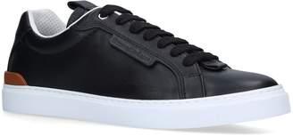 Ermenegildo Zegna Leather Ferrara Sneakers