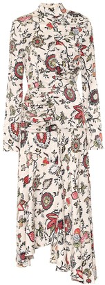 MATÉRIEL Printed crepe dress