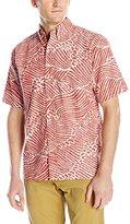 Reyn Spooner Men's Molokai Channel Short-Sleeve Shirt