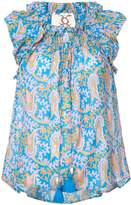 Figue Gianna paisley-print blouse