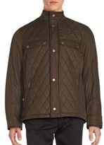 Rainforest Highneck Quilted Jacket