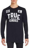 True Religion Long Sleeve Cotton T-Shirt