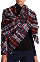 Collection XIIX Retro Plaid Square Scarf