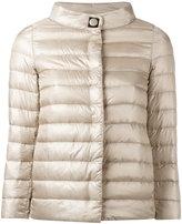 Herno high neck down jacket - women - Cotton/Feather Down/Polyamide/Viscose - 38