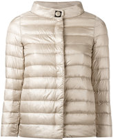 Herno high neck down jacket - women - Cotton/Feather Down/Polyamide/Viscose - 40