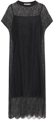 McQ Chantilly Lace Midi Dress