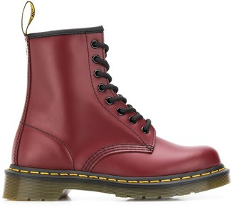 Dr. Martens leather ankle boots