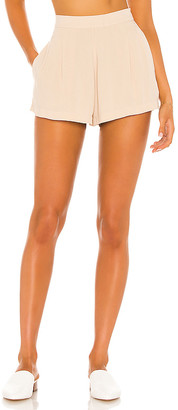 Indah Lilly Pleated High Waist Short