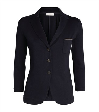 Fabiana Filippi Embellished Pocket Blazer