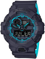 G-Shock Men's Analog-Digital Blue Resin Strap Watch 54mm