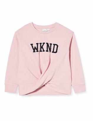 Name It Girl's Nkfberethe Ls Sweat Box Unb Sweatshirt