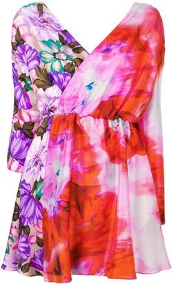 MSGM short printed dress