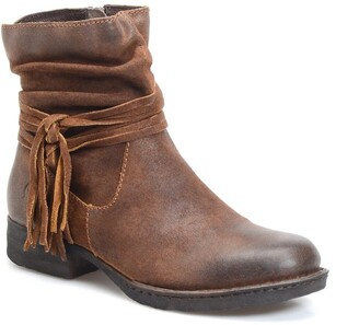 Børn Cross Leather Boot