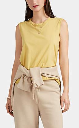 "Nili Lotan Women's ""Muscle Tee"" Cotton Tank - Golden Yellow"
