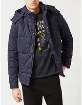 Topman Topman Quilted Cotton-blend Puffer Jacket