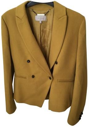 Hobbs Yellow Wool Jacket for Women