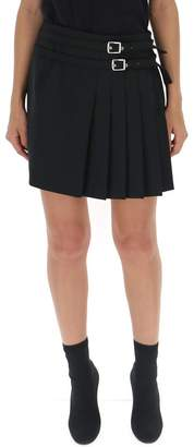 Alberta Ferretti Side Pleated Mini Skirt