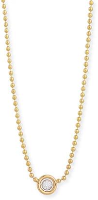 Rina Limor Fine Jewelry Diamond Bezel Pendant Necklace