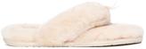 UGG Women's Fluff Flip Flop II Slippers Natural