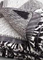 MANGO Bicolor Knit Scarf